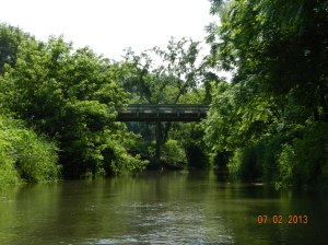 small bridge ahead