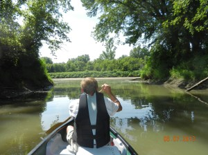 Exiting brush creek back into Maquoketa River