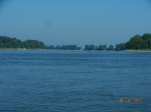 the mouth of the Missouri River