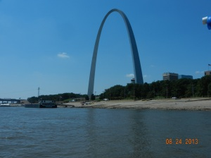 First view of the Arch