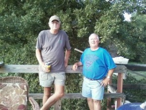 Stan and Randy Froman at Warsaw Gun Club
