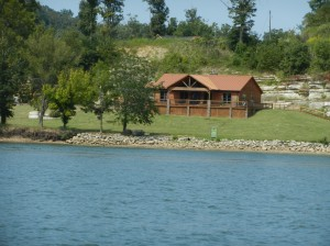 Real nice home setting along river.